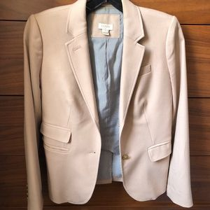 J.Crew schoolboy blazer in light camel / cream